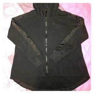 Women's Nike Hooded Zip Up Jacket Size Large